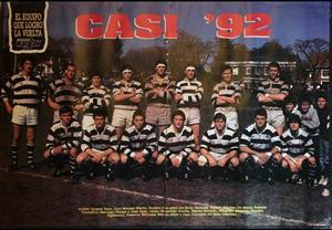 Righentini, Marcelo - Rugby - El equipo que logro la vuelta - Club Atlético de San Isidro - 1992/Jul/13