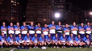 Equipo de la gira a Chile, en 2017 - RugbyV -  - Asociación Deportiva Francesa -
