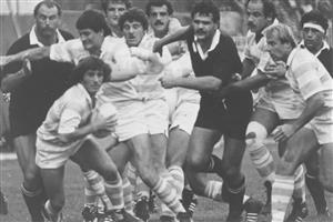 Allen, Jorge - Rugby - Pumas vs All Blacks, en los ochenta - Selección Argentina de Rugby - 1981/Mar/01