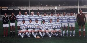 Los Pumas en 1978, en Twickenham, ante Inglaterra - Rugby -  - Selección Argentina de Rugby -
