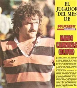 El jugador del mes: Mario Carreras - Rugby -  -  - 1987/Dec/31