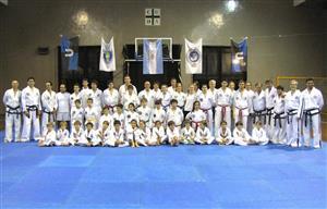 Master Class GM Galarraga & Comida 40 años de TKD en CUBA - Taekwondo -  - Club Universitario de Buenos Aires -