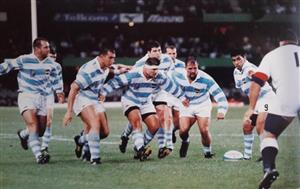 RWC 1995 - ARG 18 vs ENG 24 - Rugby -  - Selección Argentina de Rugby -