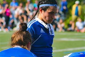 Sport Photo Book by Juan Alchourron - Rugby - Ce regard vous donne la chair de poule - Université de Montréal - 2021/Oct/09