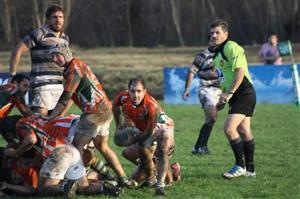 Medio scrum, abriendo el juego - Rugby -  -  -