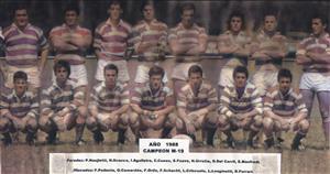 Fauve, Sebastian - Rugby - Alumni M19 Campeón año 1988 - Asociación Alumni - 1988/Nov/10