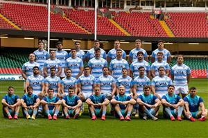 Equipo de 2021 frente a Gales - Rugby -  - Selección Argentina de Rugby -