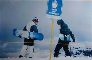 Alto, no avanzar - Alpine skiing -  - Las Leñas Ski Resort -