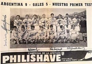 Argentina 9 - Gales 5 - Memorabilia -  - Selección Argentina de Rugby - 1965/Sep/01