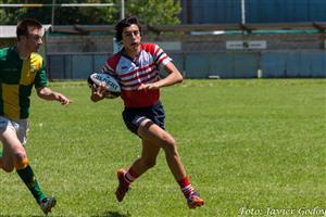 En el aire - Rugby - M16 - Areco Rugby Club - Las Cañas