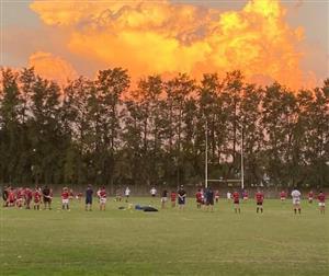 Atardecer en el entrenamiento de Curupa - Rugby -  - Curupaytí Club de Rugby -