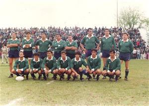 Equipo de Universitario de Tucuman año 1987, con invitados de lujo - Rugby - Superior (M) - Universitario Rugby Club -