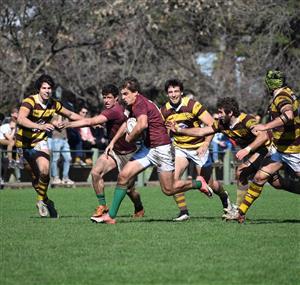 Escapando a las marcas - Rugby -  - Newman - Belgrano Athletic Club