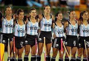 Equipo de 2015 - Field hockey -  - Selección femenina de hockey sobre césped de Argentina -
