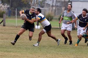 Guillermo arrancando con Polenta - Rugby - Vet (M) - Los Cedros -