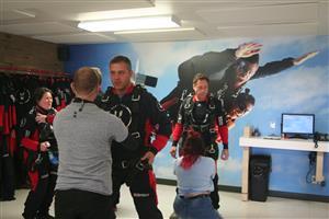 Préparation à l'intérieur - Parachuting -  - Parachute Montreal South Shore -