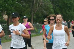 Some of the girls - Running -  - NDG Roadrunners -