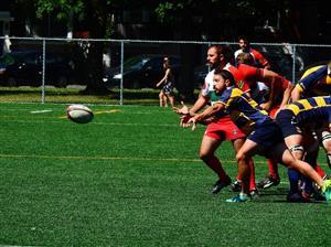 Sport Photo Book by Juan Alchourron - Rugby - Les deux meilleures démi de mêlée de la saison 2018 - Town of Mount Royal RFC - 2018/Jul/07