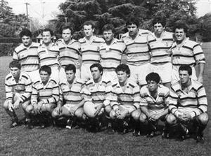 Primer año de la 68 en M23, con el gordo Conti de entrenador - Rugby - M23 (M) - San Isidro Club -