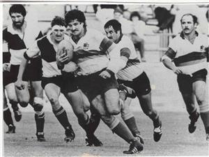 Courreges, Andres - Rugby - En los ochenta ? - Seleccionado de Buenos Aires - 1982/May/05