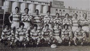 Los Pumas que vencieron a Francia en 1985, en Ferro - Rugby -  - Selección Argentina de Rugby -