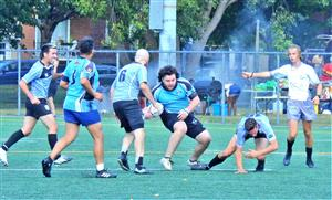 Sport Photo Book by Juan Alchourron - Rugby - What happened here ? - Montreal Wanderers Rugby Football Club - 2021/Aug/14