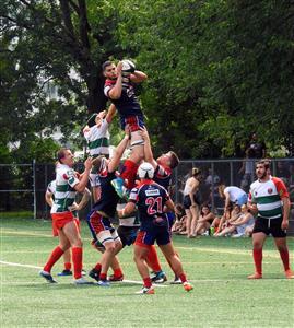 Line - Rugby -  - Rugby Club de Montréal - Barrhaven Scottish RFC