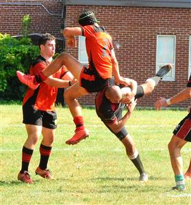 A nice game against WRFC - Rugby -  - Beaconsfield Rugby Football Club - Westmount Rugby Club