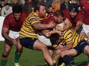 Mucha fuerza en una sola foto - Rugby -  - Newman - Club Regatas de Bella Vista