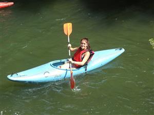 En descendant l'Adur - Canoe -  - Stade Olympique Maubourguetois -