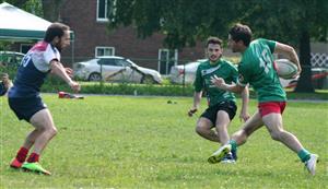 Difficile à suivre, le n15 - Rugby -  - Ormstown Saracens RFC - Rugby Club de Montréal