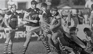 Nachito jugando en la primera del CASI - Rugby -  - Club Atlético de San Isidro -