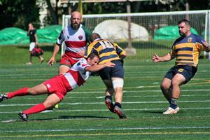 Jean-Luc en action - Rugby -  - Rugby Club de Montréal - Town of Mount Royal RFC