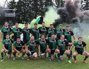 El equipo de Duendes, con un puma - Rugby -  - Duendes Rugby Club  -