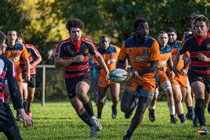 Sport Photo Book by Juan Alchourron - Rugby -  - Cegep Vanier - 2021/Oct/24