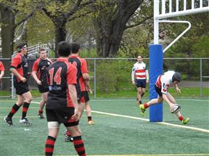 That's a try - Rugby -  - Beaconsfield Rugby Football Club - Rugby Club de Montréal