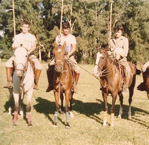 Alberto, Horacio y Pedro - Polo -  -  -