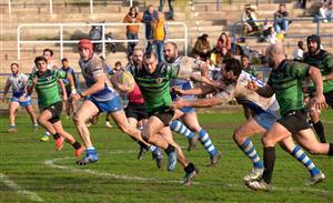 El marcador se dio la vuelta en los minutos finales. - Rugby -  - Belenos Rugby Club - Gernika Rugby Taldea