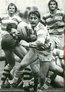 Ricardo Landajo y los hermanos Iachetti detras - Rugby -  - Selección Argentina de Rugby -