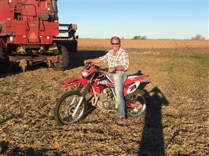 Cross en el campo - Motorcycle racing -  -  -