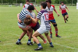 A pura garra - Rugby - M16 - Areco Rugby Club - Club San Carlos