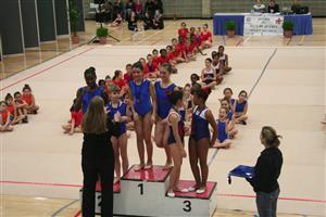 Finale des Jeux du Québec 2011 - Rhythmic gymnastics -  - QUESTO -