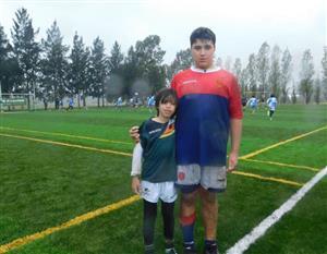 Rivales y compañeros de juego M12 VRC vs Deportiva Francesa - Rugby -  - Asociación Deportiva Francesa - Virreyes Rugby Club