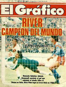 River Campeon del Mundo (1986) - Memorabilia -  - Club Atlético River Plate -