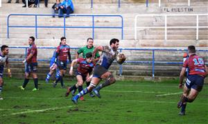 Arrancada del 8 que concluyó en ensayo - Rugby - Superior - Belenos Rugby Club - Vigo Rugby Club