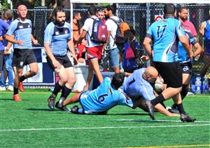 Sport Photo Book by Juan Alchourron - Rugby - Going down - Montreal Wanderers Rugby Football Club - 2021/Aug/14