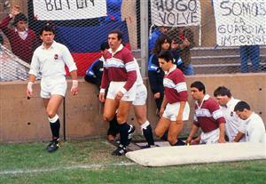 Salida a la cancha, jugando contra Inglaterra - Rugby -  - Club Atlético Banco de la Nación Argentina -