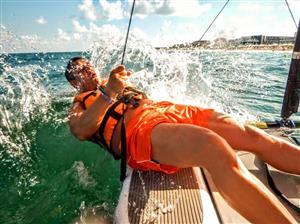 Tragando agua - Sailing -  - Cancun Hotels - Piritubao Polo Club