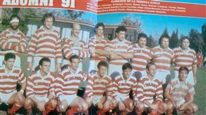 Camardon, Gonzalo - Rugby - Ganador de la primera rueda (1991) - Asociación Alumni - 1991/Jul/20