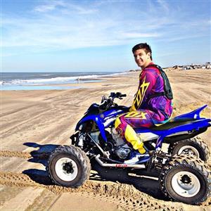 Lucho en Pinamar - Motorcycle racing -  - Pinamar (médanos) -